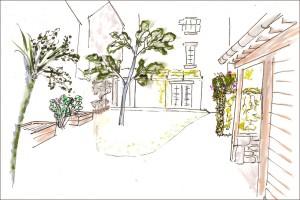 Chez Annie & Alain - Esquisse